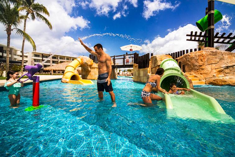 Royalton Bavaro Resort & Spa kids pool; Courtesy of Royalton Bavaro Resort & Spa