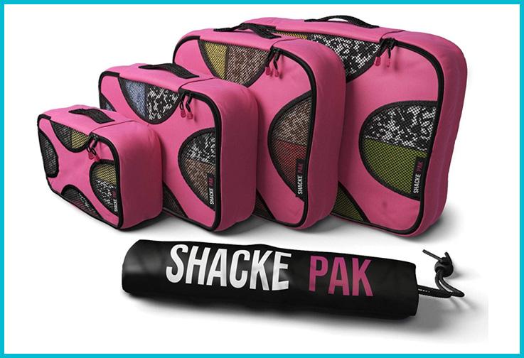 Shacke Packing Cubes; Courtesy of Amazon
