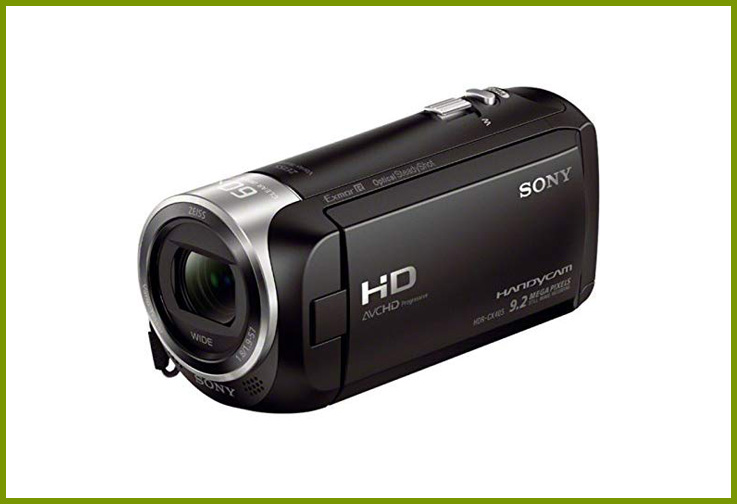 Sony HDR-CX405 Camcorder Bundle; Courtesy Amazon