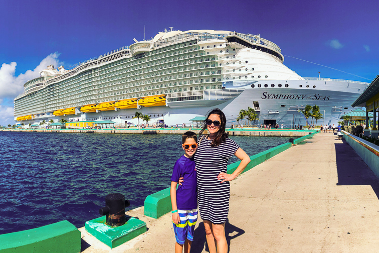 Symphony of the Seas; Courtesy of Cortney Fries