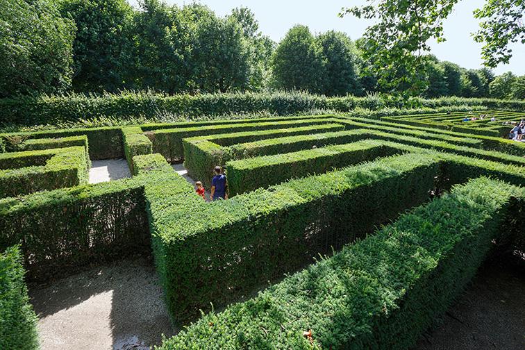 Vienna, Austria Maze; Courtesy of Balakate/Shutterstock