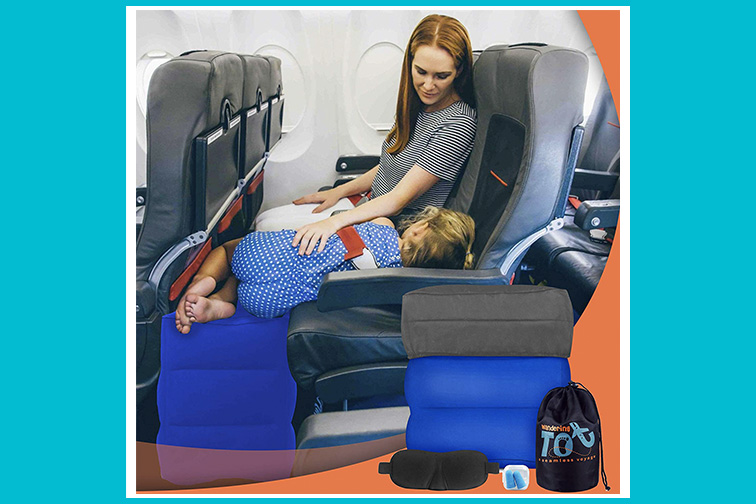 Wandering Tot Inflatable Foot Rest; Courtesy of Amazon