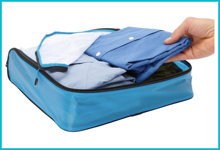 eBags Hyper-Lite Travel Packing Cubes; Courtesy of Amazon