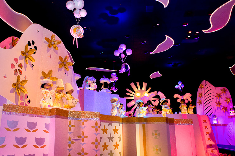 """it's a small world""; Courtesy of Disney"