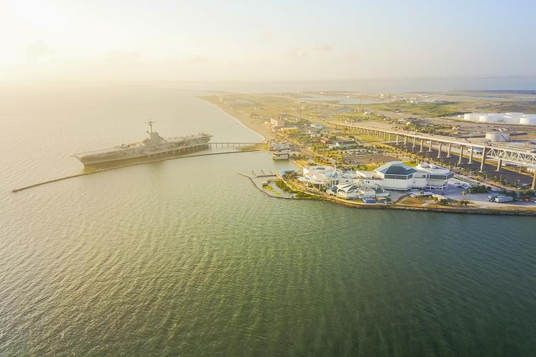 North Beach, Corpus Christi; Courtesy of Trong Nguyen/Shutterstock