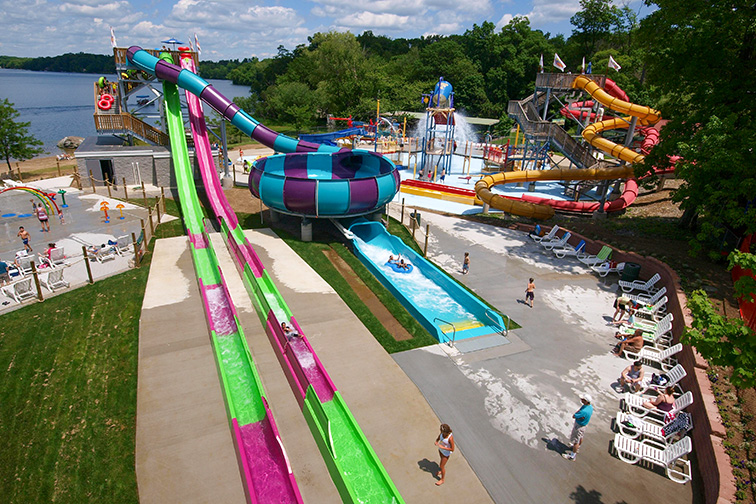 Splash Away Bay, Quassy Amusement Park  – Middlebury, CT; Courtesy of Splash Away Bay, Quassy Amusement Park