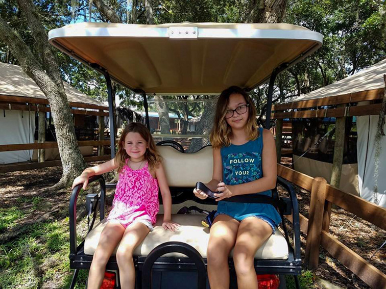 gold cart at the Westgate River Ranch Resort & Rodeo; Courtesy of TripAdvisor Traveler/Theresa W