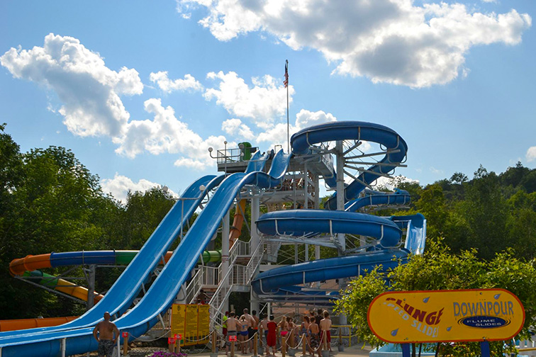 Whale's Tale Waterpark – Lincoln, NH Courtesy of TripAdvisor Traveler/Jennifer B