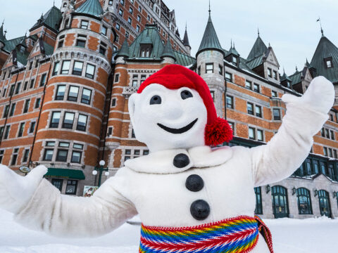 winter carnival in quebec; Courtesy of Quebec CVB