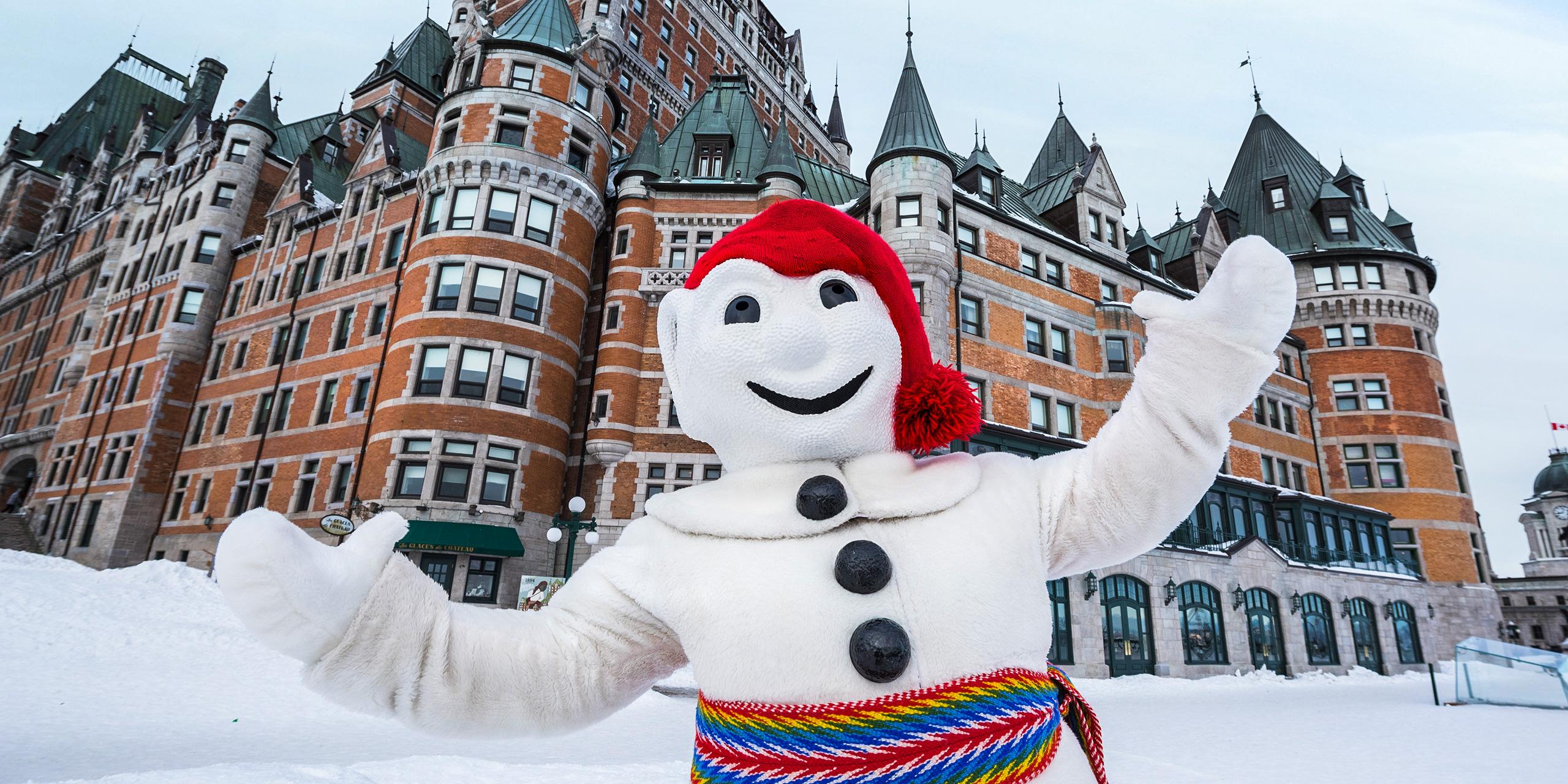 winter carnival in quebec; Courtesy of Quebec CVB