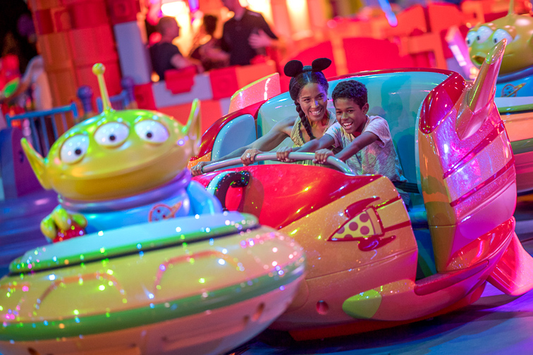Alien Swirling Saucers; Courtesy Disney