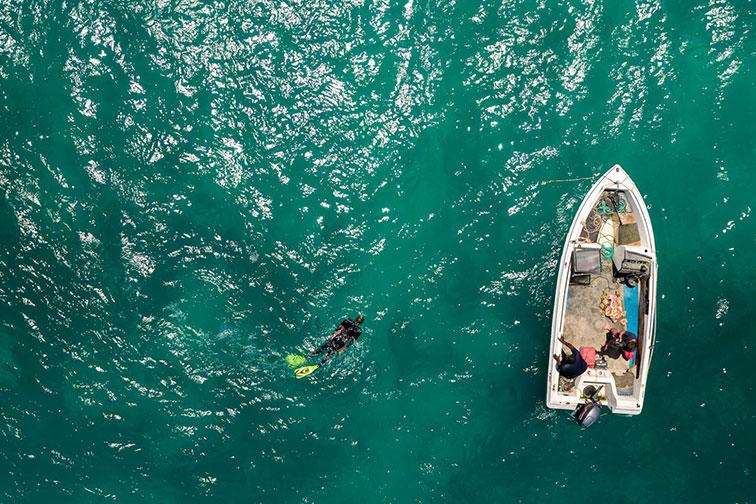 Andros Islands, Bahamas