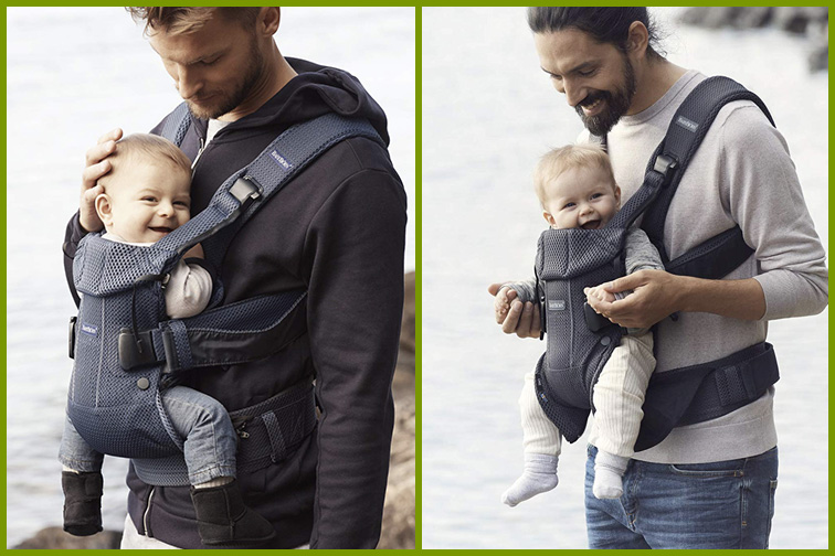 BABYBJÖRN New Baby Carrier One 2019 Edition; Courtesy Amazon