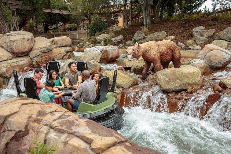 Calico River Rapids at Knott's Berry Farm in Anaheim, CA