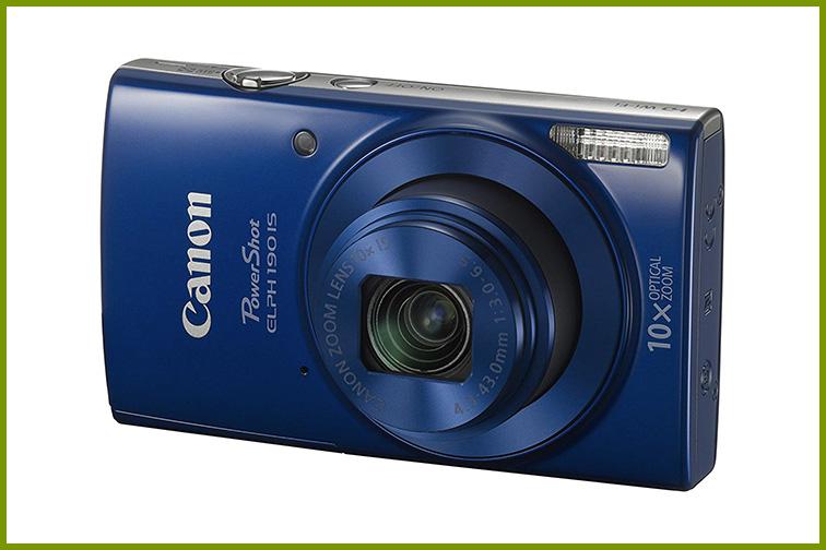 Canon PowerShot ELPH 190 Digital Camera; Courtesy Amazon