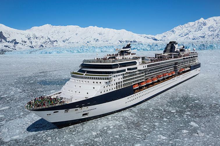 Celebrity Cruise in Alaska