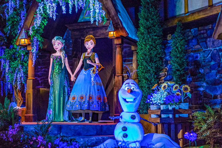 Frozen Ever After; Courtesy Disney