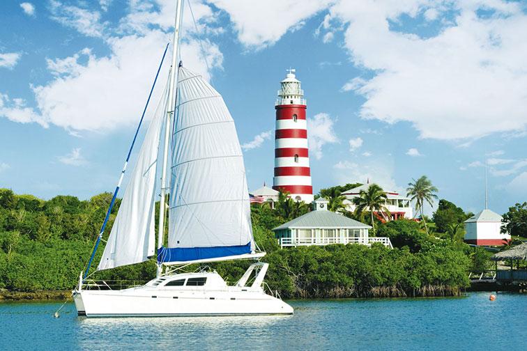 Grand Bahama Island in the Bahamas