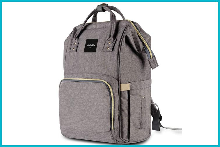 HaloVa Diaper Bag; Courtesy Amazon