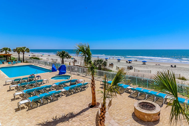 Holiday Inn Oceanfront at Surfside Beach in Surfside Beach, SC