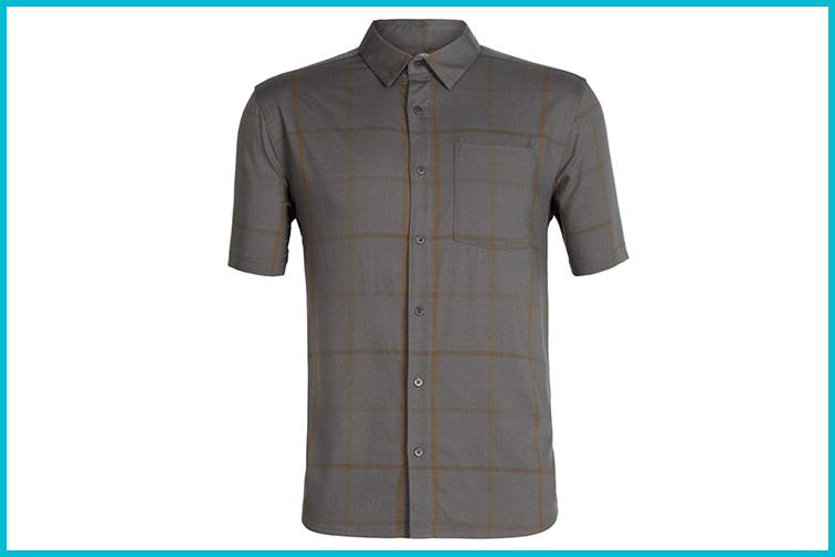 Icebreaker Compass Short Sleeve Shirt; Courtesy Amazon