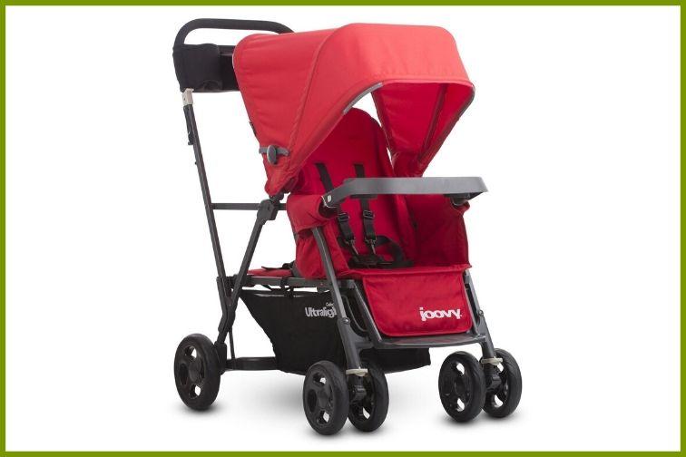 Joovy Caboose Ultralight Stroller Red