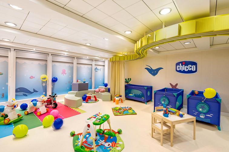 MSC Armonia, Baby Club; Courtesy MSC Cruises