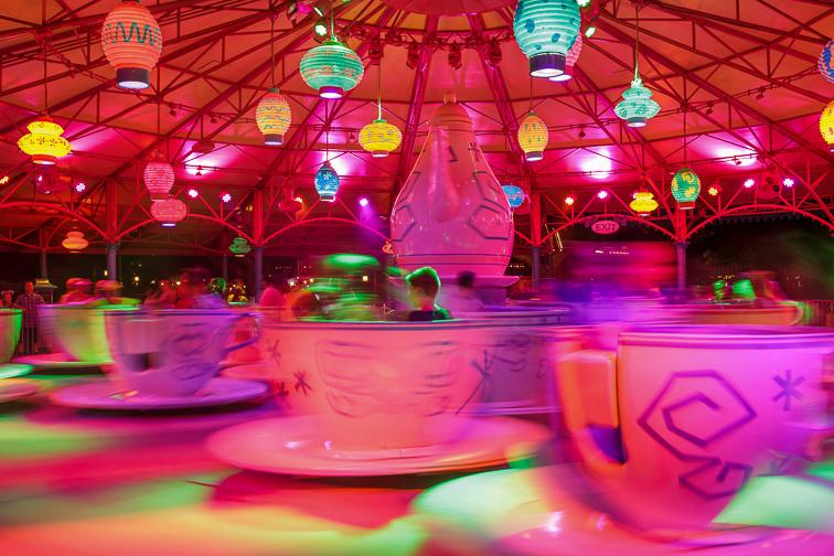 Mad Tea Party; Courtesy Disney