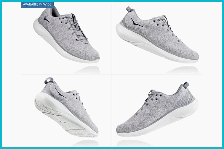 Men's Hupana Flow Wool Shoe by HOKA ONE ONE; Courtesy Hoka One One