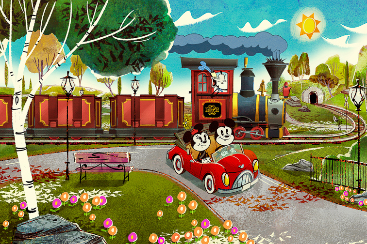 Mickey and Minnie's Runaway Railway; Courtesy Disney