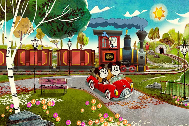 Mickey and Minnie's Runaway Railway; Courtesy Disney