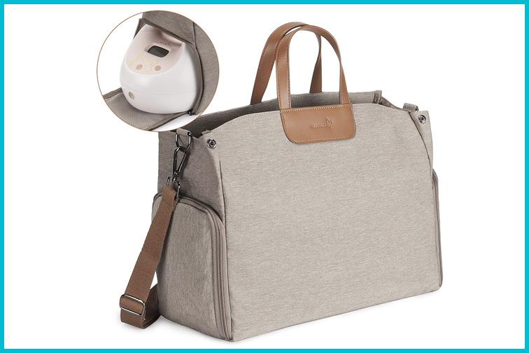 Momcozy Breast Pump Bag; Courtesy Amazon