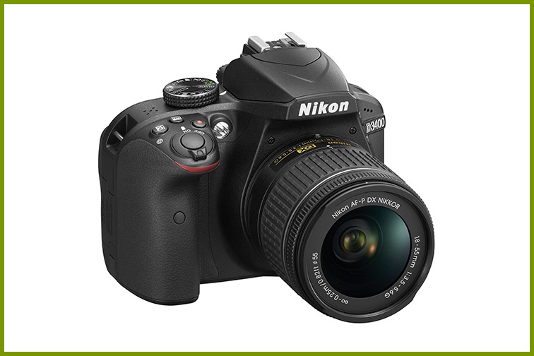 Nikon D3400; Courtesy Amazon