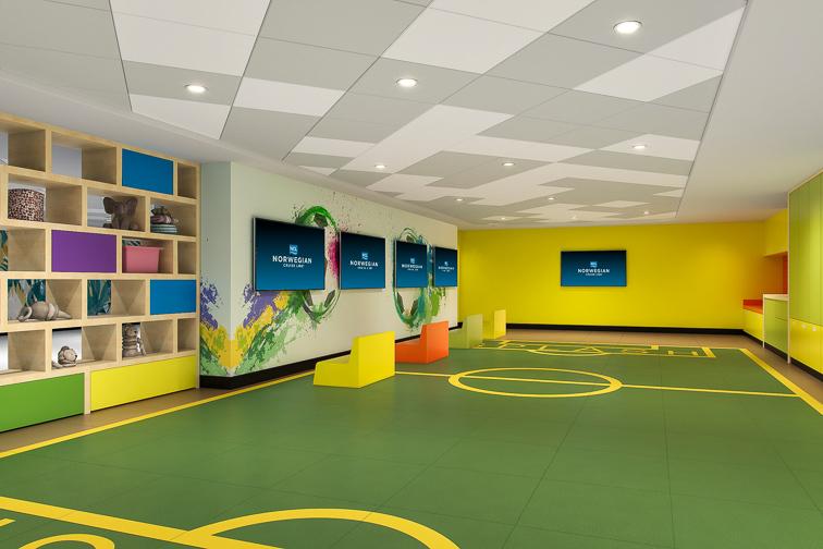 Norwegian Cruise Line splash academy; Courtesy Norwegian Cruise Line