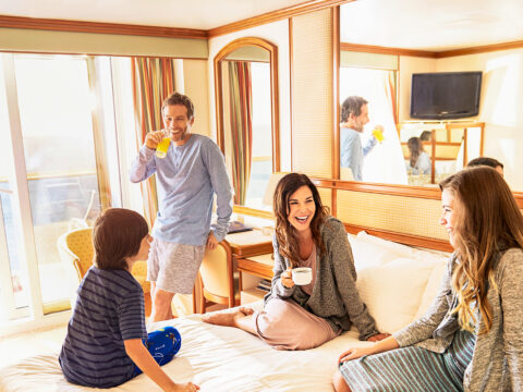 Princess Cruises Family Suite; Courtesy Princess