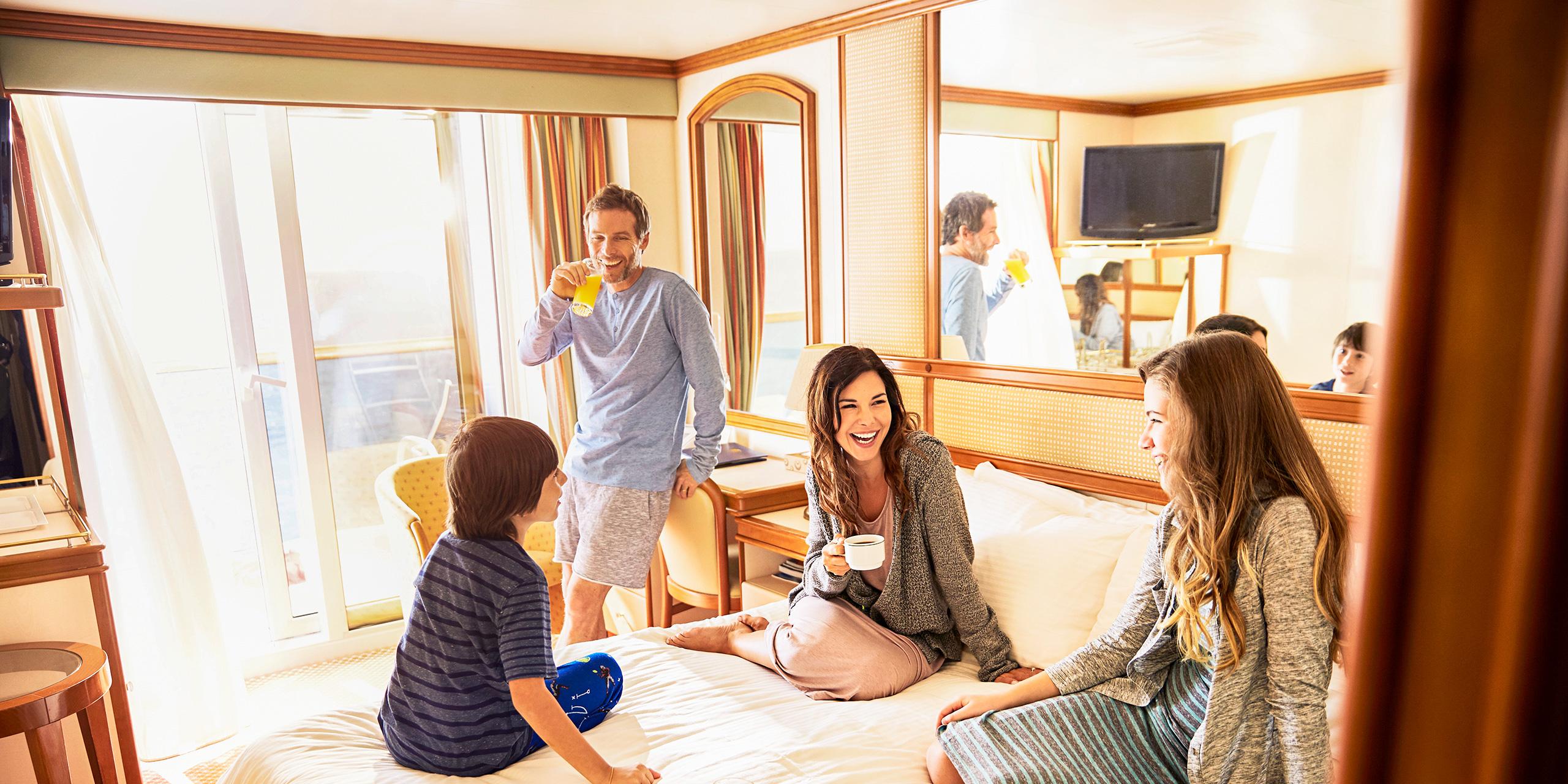 Princess Cruises Family Suite; Courtesy Princess