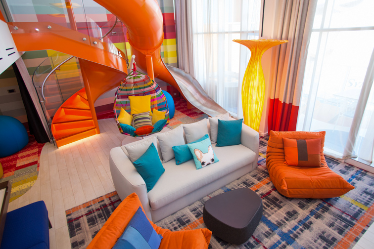 Royal Caribbean's Symphony of the Seas – Ultimate Family Suite; Courtesy Royal Caribbean