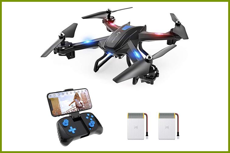 SNAPTAIN S5C Wi-Fi FPV Dronewith 720p HD Camera; Courtesy Amazon
