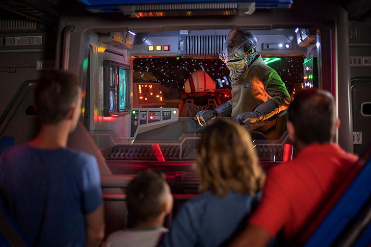 Star Wars: Galaxy's Edge at Disney California Adventure Park in Anaheim, CA