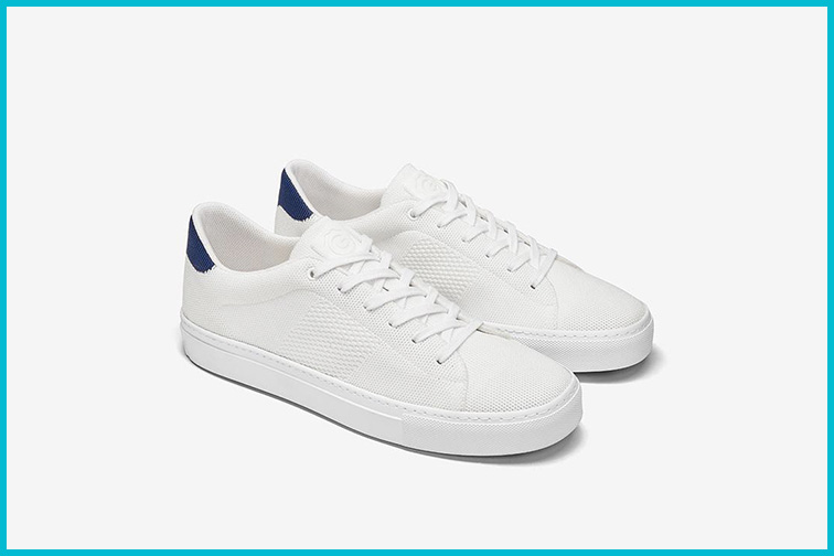 The Royale Knit Sneaker by GREATS; Courtesy Greats