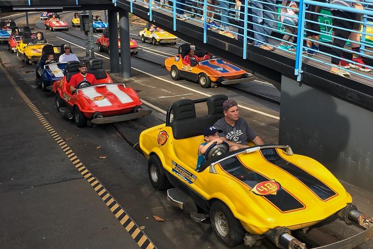 Tomorrowland Speedway; Courtesy Tripadvisor Traveler/Jotjie