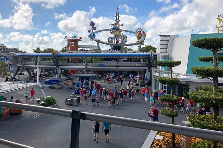 Tomorrowland Transit Authority People Mover; Courtesy Tripadvisor Traveler/Sally62