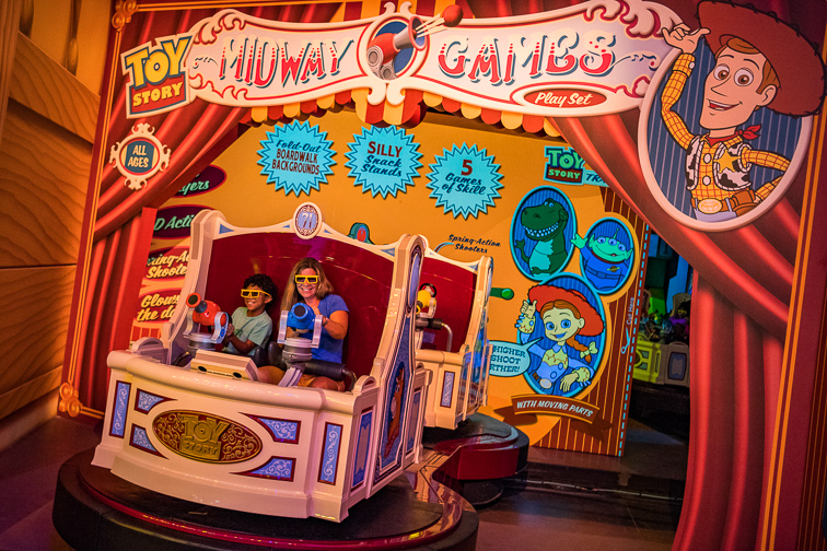 Toy Story Mania; Courtesy Disney