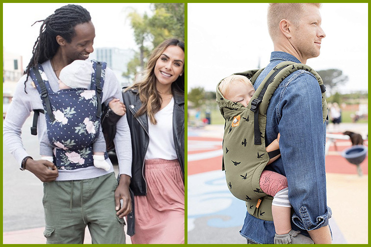 Tula Free-to-Grow Baby Carrier; Courtesy Amazon