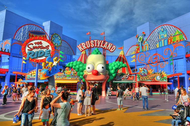 Universal Studios Hollywood in Universal City, CA