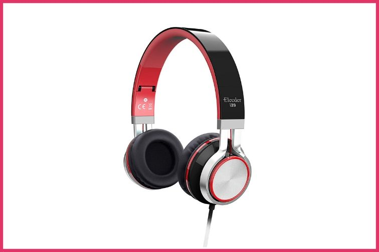 Red and Black i39 Headphones