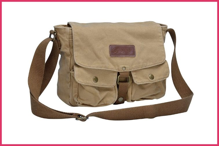 Gootium Canvas Messenger Bag