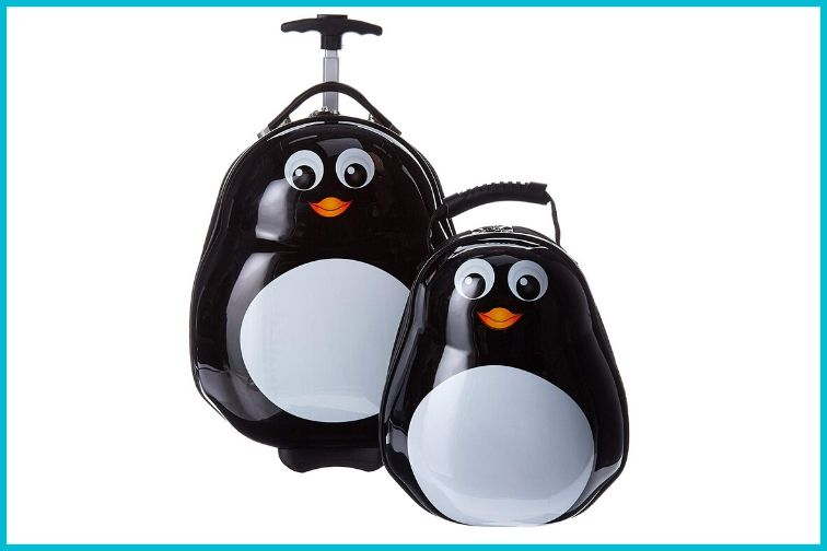 Penguin Luggage for Kids