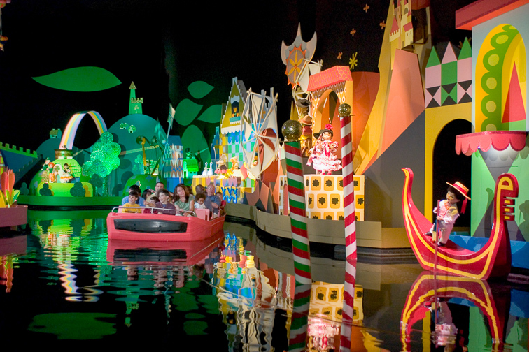 it's a small world; Courtesy Disney