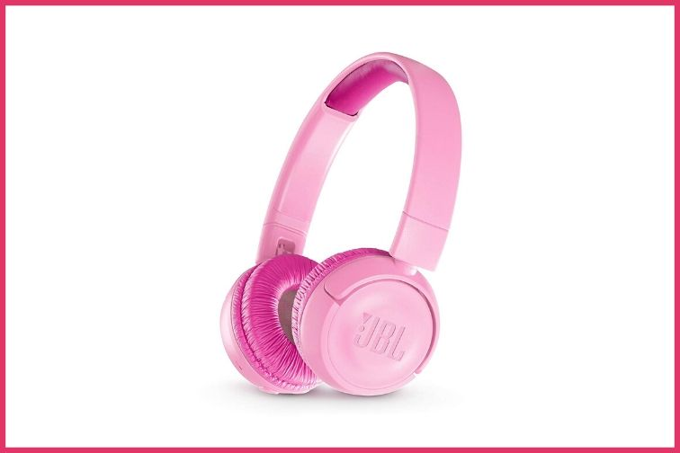 JBL Wireles Headphones in Pink